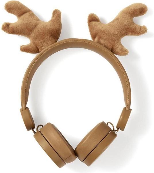 Nedis koptelefoon Rudy Reindeer bruin