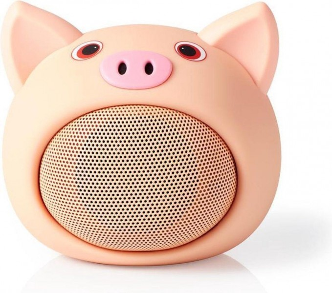 Nedis Bluetoothspeaker Pinky Pig