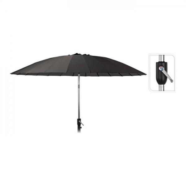 Parasol shanghai 270cm zwart
