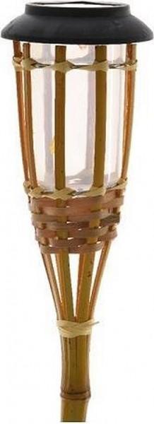 Lumineo solar fakkel bamboe vlam