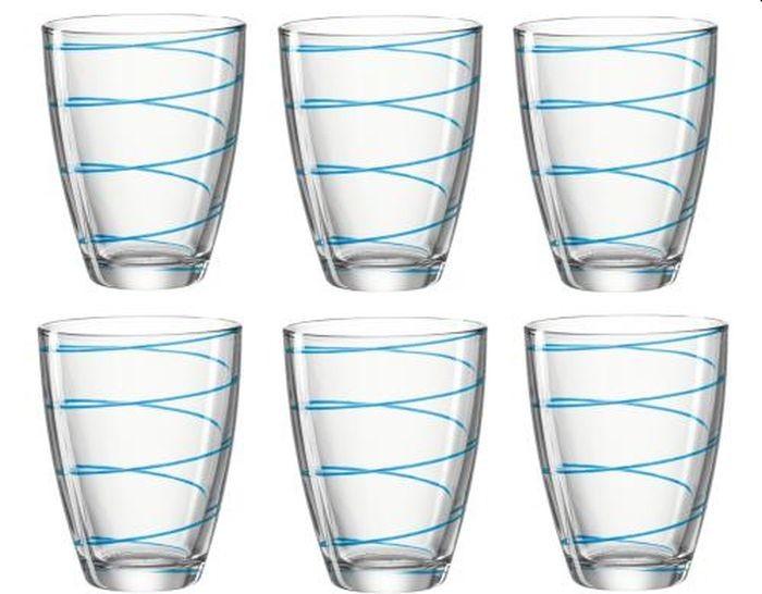 Montana waterglas blauw jolly