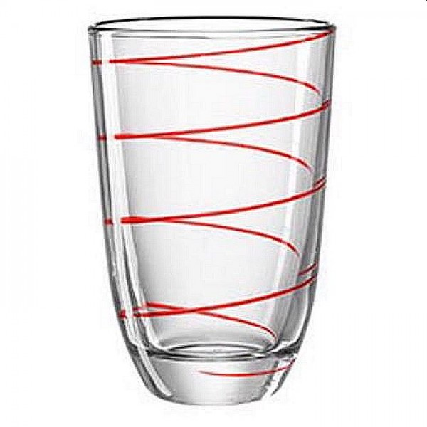 Montana longdrink glas rood jolly