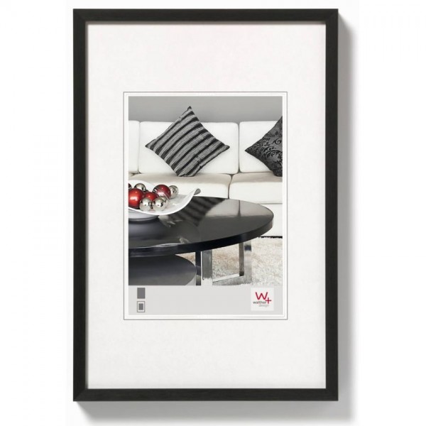 Walther Chair aluminiumlijst 13x18cm zwart