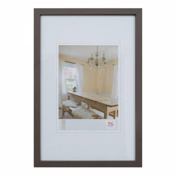 Walther Peppers houten fotolijst 10x15cm grijs