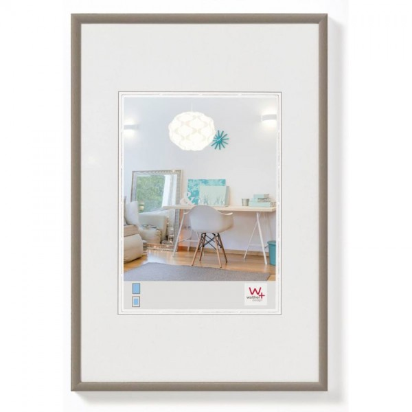 Walther New Lifestyle fotolijst 10x15cm staal