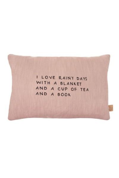 Zusss kussen rainy days rouge 40x60cm