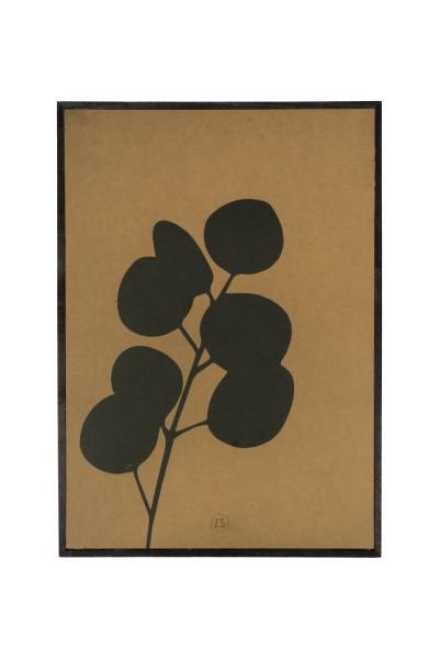Zusss schilderij eucalyptus oker 35x25cm