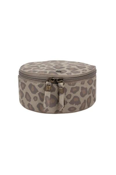 Zusss make-up tasje rond leopard