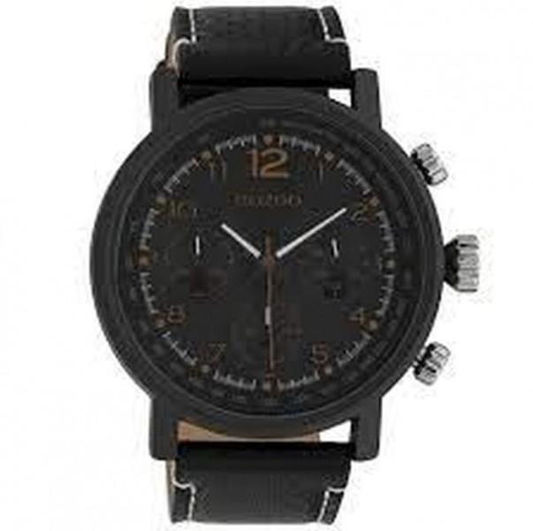 Oozoo horloge zwart c10063