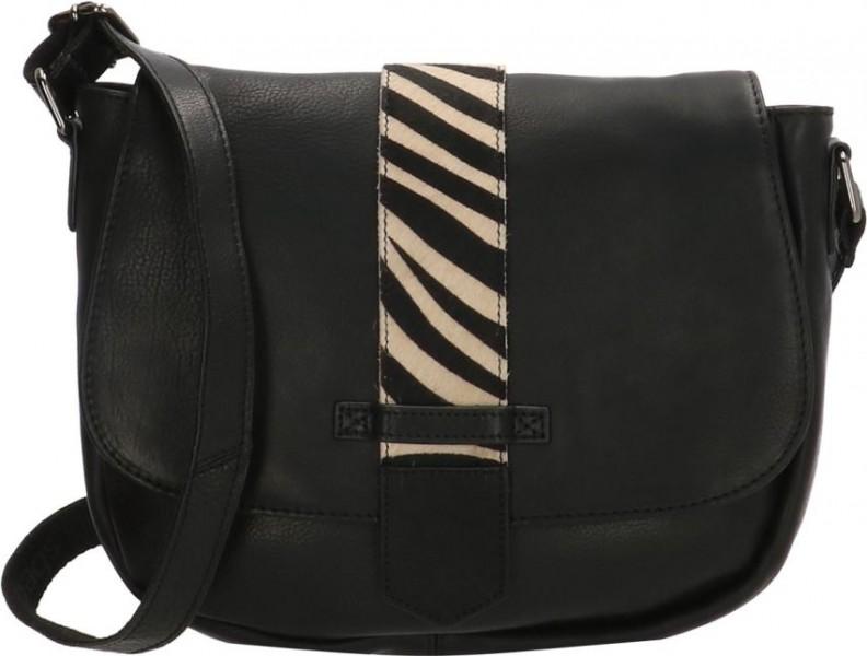 MicMacBags schoudertas 001 zwart