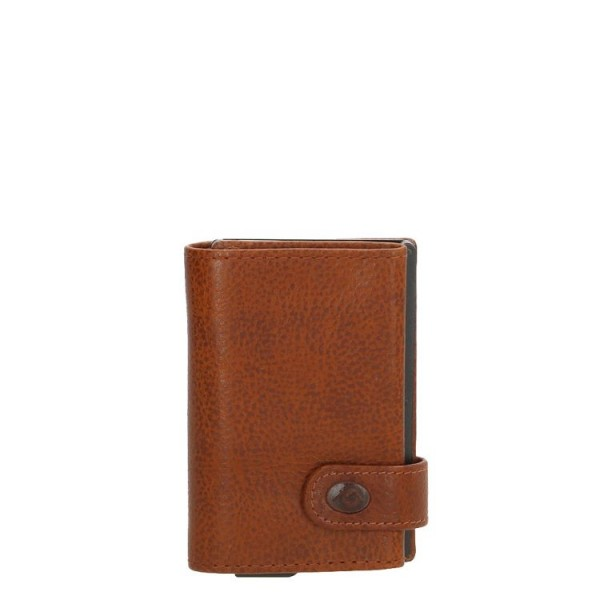 MicMacBags creditcardetui bruin