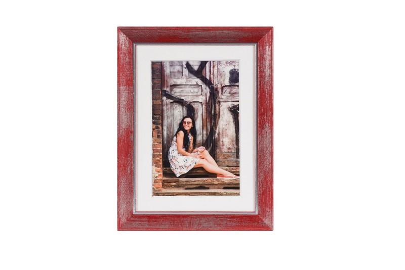 Henzo fotolijst Aimée 13x18cm rood