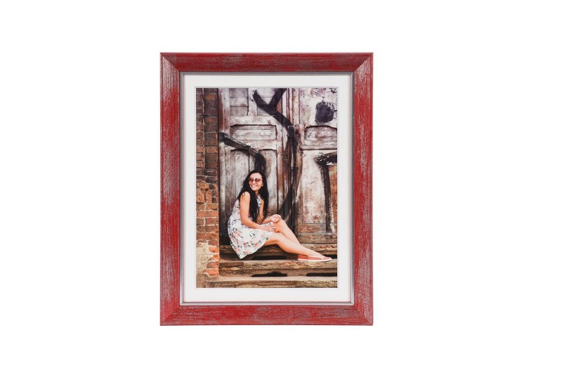 Henzo fotolijst Aimée 15x20cm rood