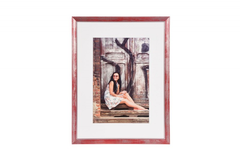 Henzo fotolijst Aimée 30x40cm rood