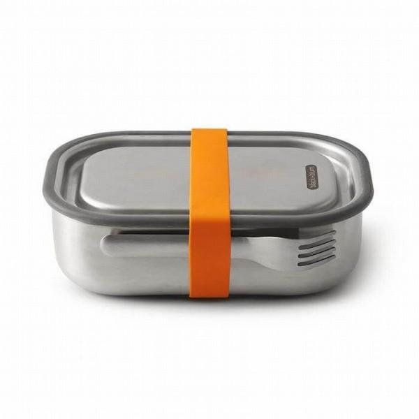 Black Blum lunchbox edelstaal oranje 1 liter