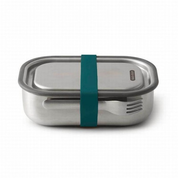 BlackBlum 3in1 lunchbox silicone ocean 1 liter roestvrijstaal L
