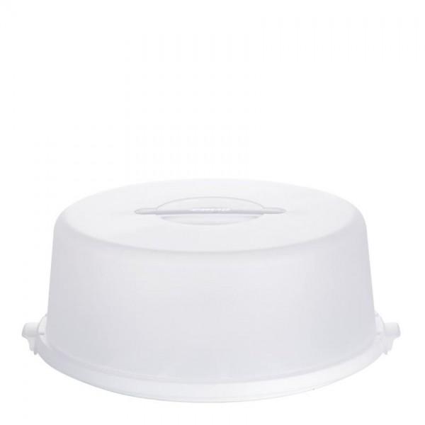 Emsa taartenbutler 33cm wit transparant