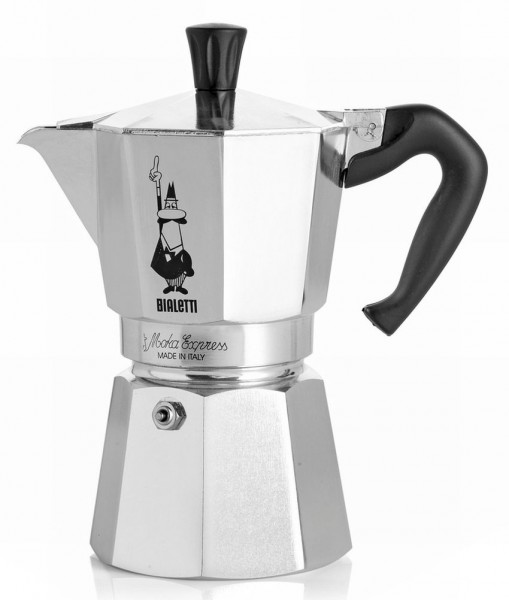 Bialetti espressokan 3 koppen 16x8cm
