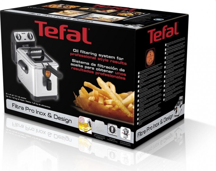 Tefal friteuse Filtra Pro 3 liter