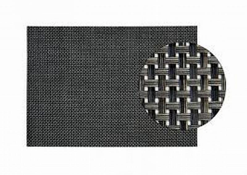 Placemat kunststof 45x33cm antraciet