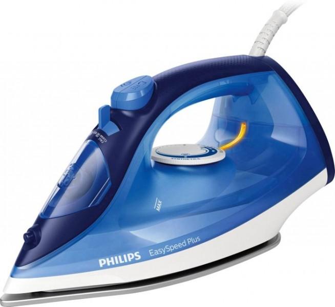 Philips GC2145/20 EasySpeed Plus Stoomstrijkijzer Blauw 2100 W online kopen