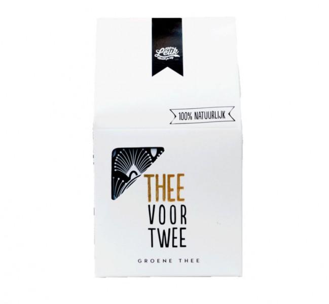100 Leuk Thee voor twee groene thee