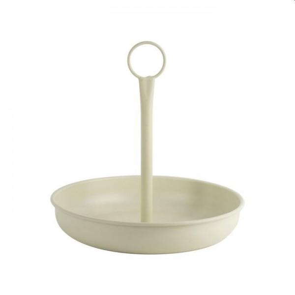 Gusta ronde serveerschaal met handvat 25cm