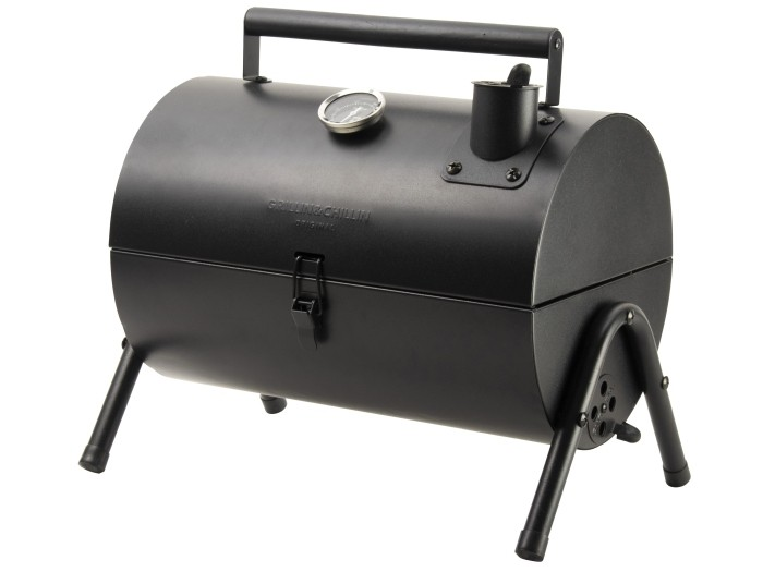 Gusta barbecue roker 37.5x25x38cm zwart