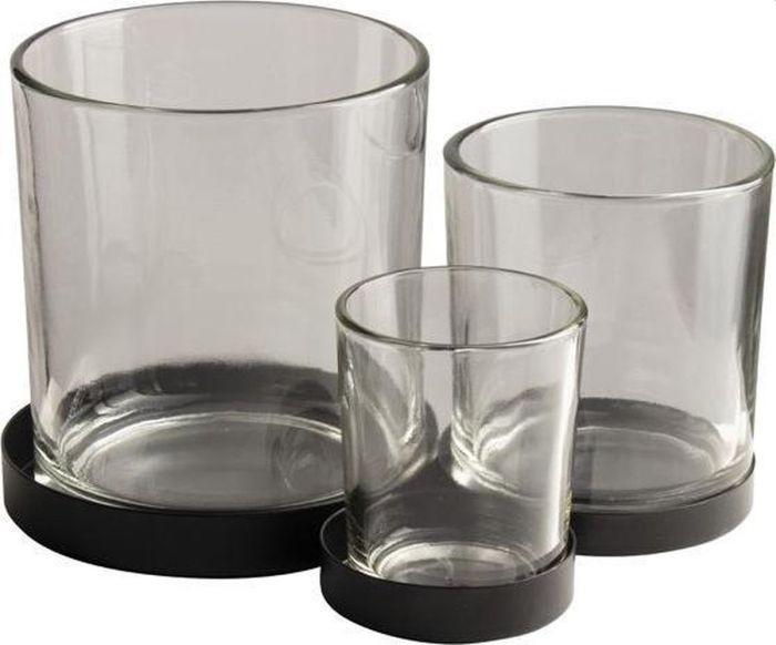 Gusta Metalen houder Glaasjes 3 Stuks