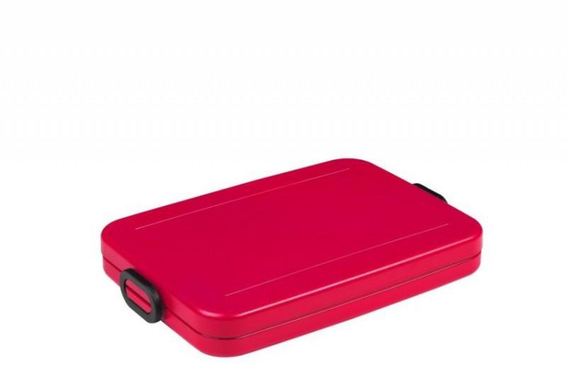Mepal lunchbox Take a Break flat nordic red