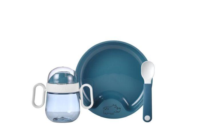 Mepal Set Babyservies Mio 3 delig - deep blue