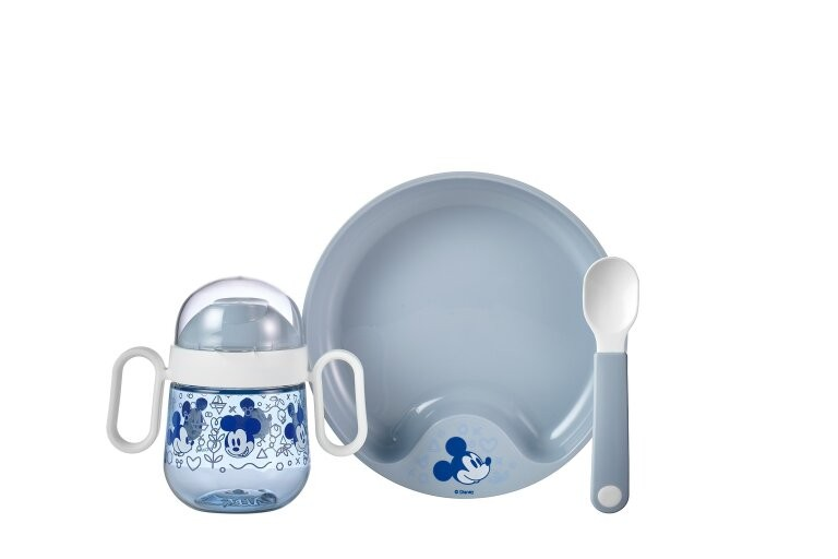 Mepal Set babyservies Mio 3 delig mickey mouse