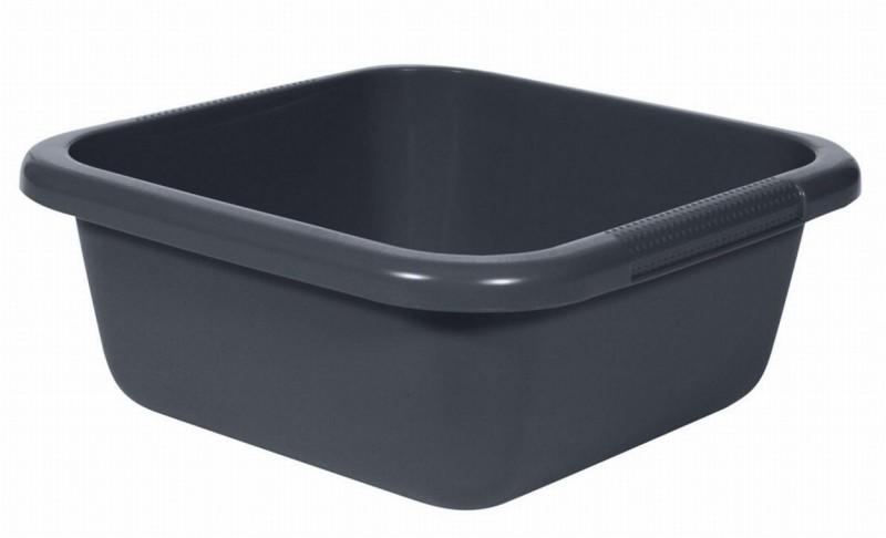 Curver afwasteil 6 liter vierkant antraciet