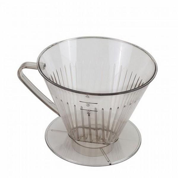 Metaltex koffiefilterhouder nr 4 met greep