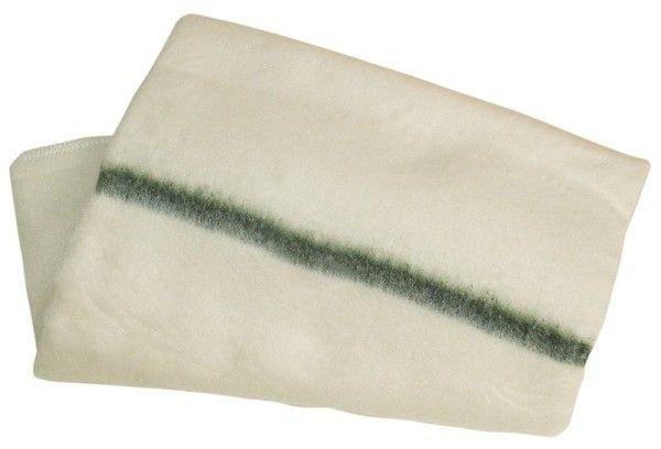 Dweil geweven groene streep